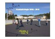 Kuntastrategia Kuntastrategia 2010 - 2015 ... - Nastolan kunta