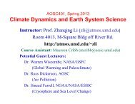 What is Climate? - Atmospheric and Oceanic Science