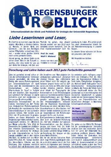 Ausgabe Nr. 5 - November 2012 - Caritas-Krankenhaus St. Josef ...