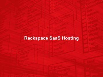 Rackspace SaaS Hosting - Rackspace Hosting