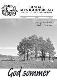 Menighetsbladet 3-2006 - Bindal kommune