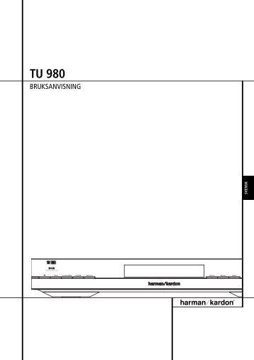 TU 980 - Harman Kardon