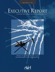 AIA Executive Report - Aerospace Industries Association