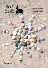 Ausgabe Juni bis August 2013 - Ev. Kirchengemeinden ...