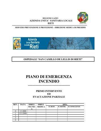 Antincendio piano emergenza interno azienda - Costo ascensore interno 1 piano ...