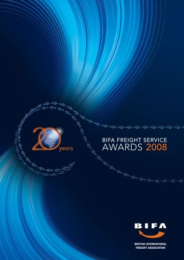 AWARDS 2008 - British International Freight Association
