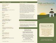 Brochure - Mount Olive College