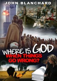 Where is God When Things Go Wrong? [PDF] - Preach The Word