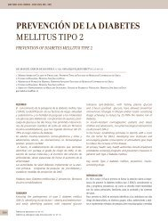 prevención de la diabetes mellitus tipo 2 - Clínica Las Condes