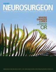 view PDF - American Association of Neurological Surgeons