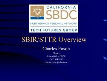 SBIR/STTR Overview - the SJSU Research Foundation Website