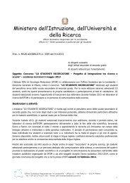 Prot. LO Lo studente ricercatore 2013 - Liceo Artistico Bruno Munari