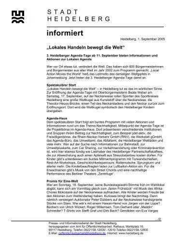 Programm - Stadtpolitik Heidelberg