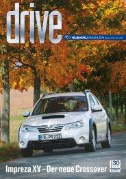 Impreza XV - Der neue Crossover - Subaru