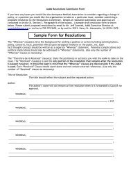 AsMA Proposed Resolution Submission Form - Aerospace Medical ...