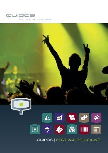 Industry Brochure Festivals - Quipos Solutions