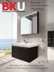 VitrA's latest T4 collection provides perfect - Bathroom & Kitchen ...