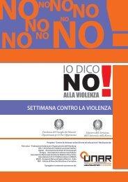 """""""Settimana contro la violenza"""" (pdf) - Fish"""