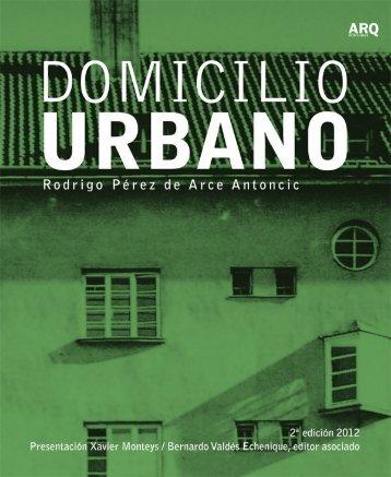 Domicilio-urbano-Ane.. - Ediciones ARQ