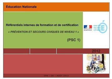 Référentiels internes - Ministère de l'Éducation nationale