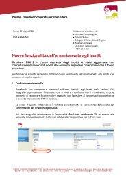 Circolare 9/2012 - Fondo Pegaso