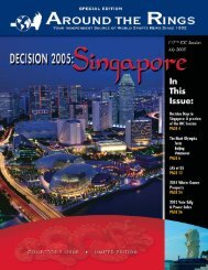 Singapore Special Edition - Around the Rings
