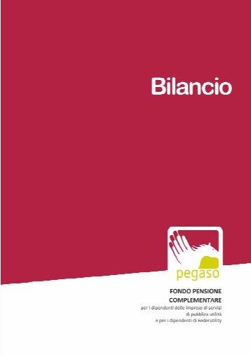 Bilancio esercizio 2010 - Pegaso