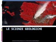 Visualizza la presentazione - Dipartimento di Scienze della Terra
