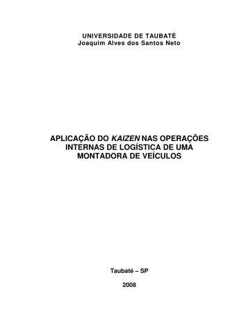 aplicação do kaizen nas operações internas de ... - Ppga.com.br