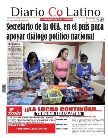 Edición 8 de Enero 2015