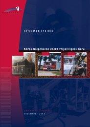 A5 brochure vrijwilligers.qxd - BrandweerKennisNet