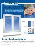 Prospekt Alphaline Fenster 90 mm Bautiefe - H+G Werksvertretung - Seite 2