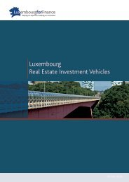 Luxembourg Real Estate Investment Vehicles - Alfi