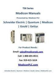 Modicon Quantum 140ARI03010 RTD Input Module - Modicon PLC
