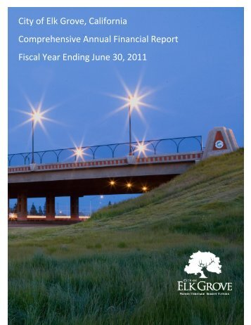 Fiscal Year Ended June 30, 2011 - City of Elk Grove