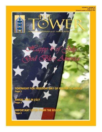 June 30, 2013 - St. Thomas More Catholic Church