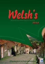 Allowing you to sit back and discover - Welsh's Coach Holidays