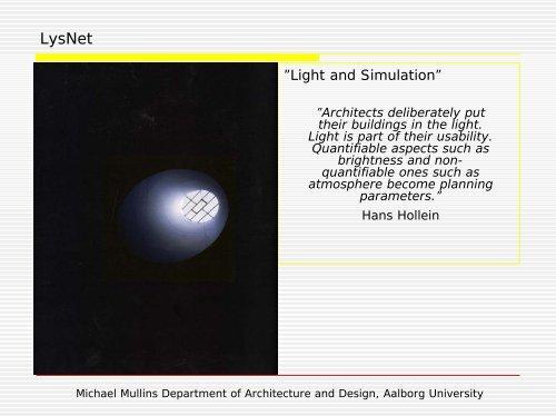 Design Strategy - Lysnet