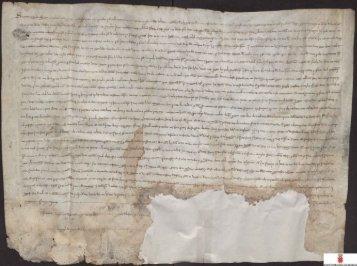 Obligación de Bernardo de Sarriá, procurador del rey de Aragón en ...