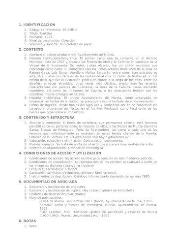 Ficha - Archivo Municipal