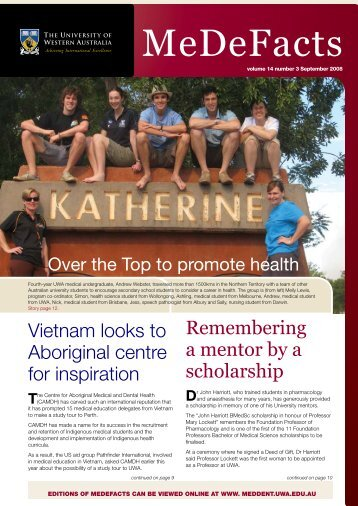 MeDeFacts - The University of Western Australia