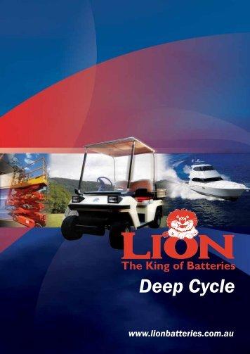 Deep Cycle - Lion Batteries