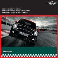 john cooper works brochure - Spire MINI