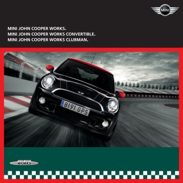 john cooper works brochure - Spire MINI