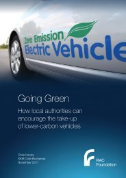 Going Green - Hanley - 041111 - RAC Foundation