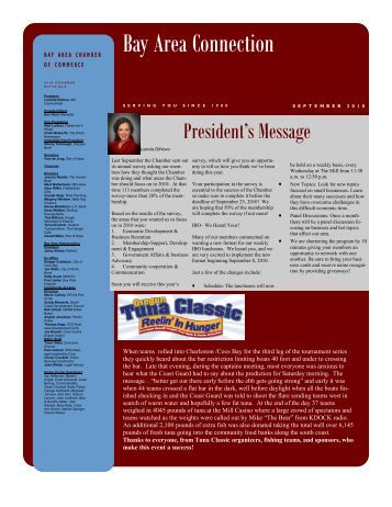 September - Oregon Bay Area Chamber of Commerce Directory