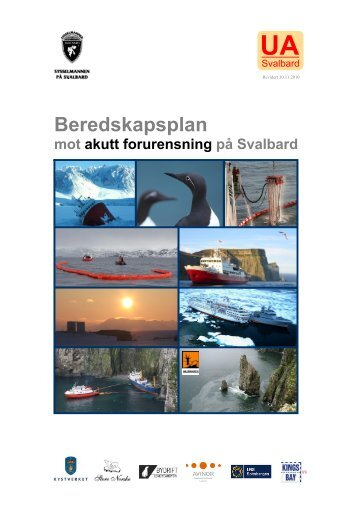 Beredskapsplan mot akutt forurensning på Svalbard - Sysselmannen