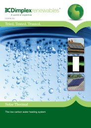Tried. Tested. Trusted. Solar Thermal - RIBA Product Selector