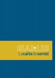 Carta dei servizi - Casa di cura - SALUS