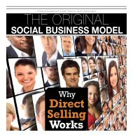 A Special Supplement To USA Today By Direct Selling News The